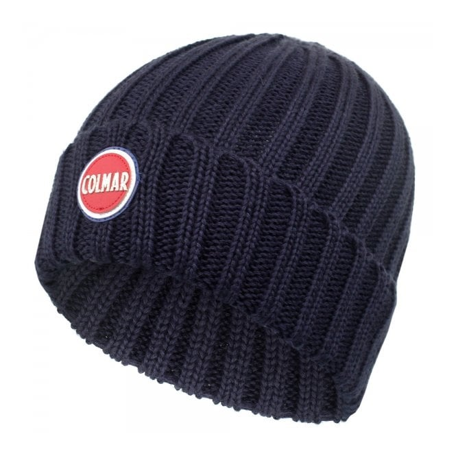 Colmar Originals Colmar Ribbed Navy Pull On Beanie 5096 8LO 68