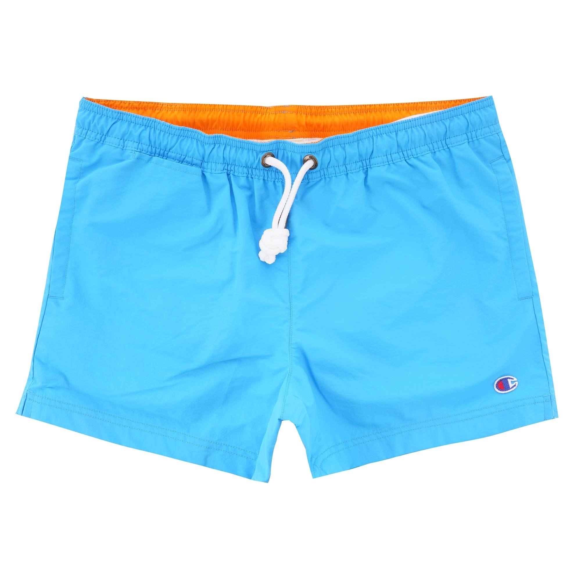 5178a45608 Champion Contrast Seam Detail Swim Shorts   Blue   213090BZ022