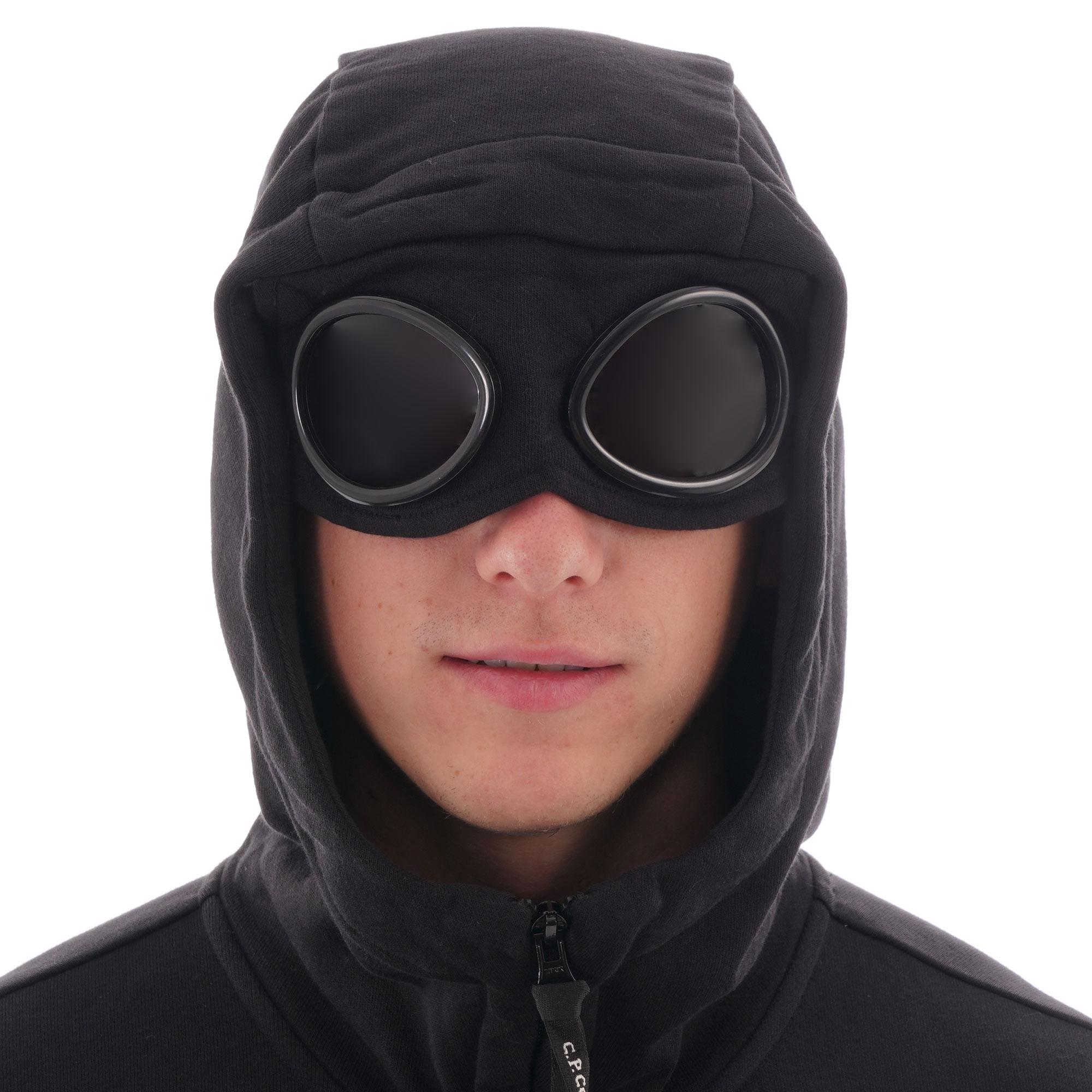 C.P Company Goggle Hoodie Black