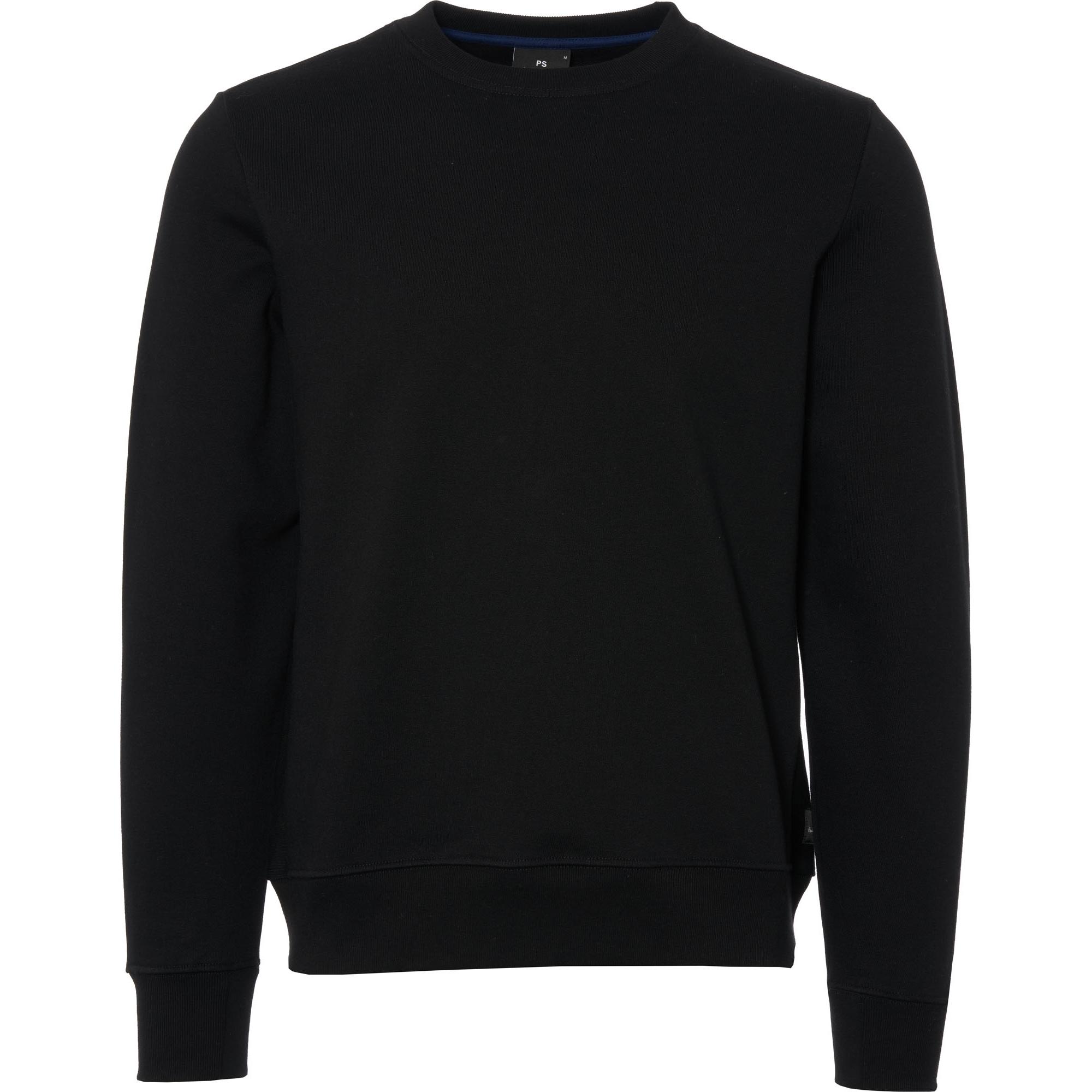 pspaul smith crewneck sweatshirt | black | m2r-027r 79
