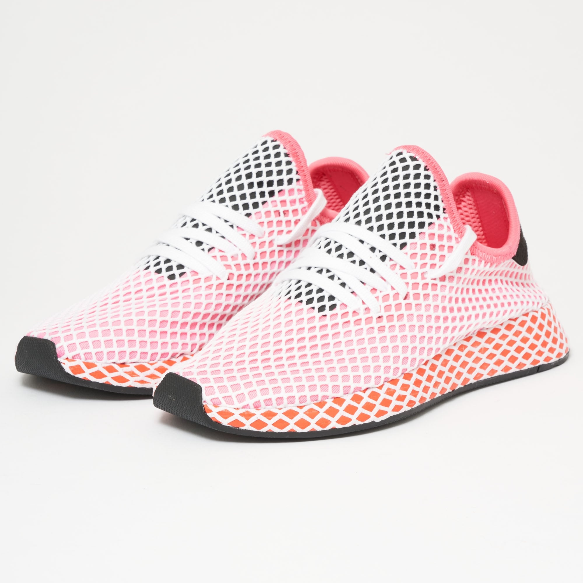 509ec4083d0 Deerupt Runner - Chalk Pink   Bold Orange