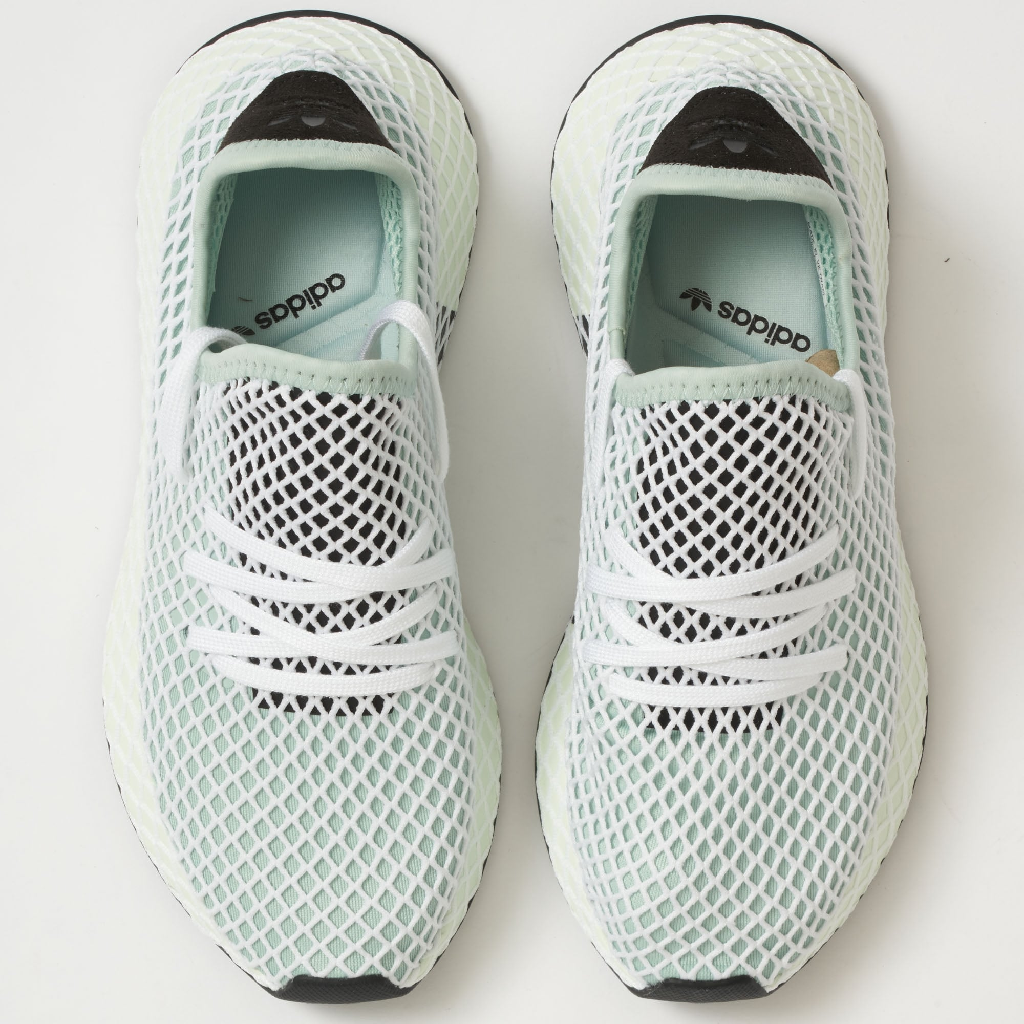 56382fdb9 Adidas Womens Ash Green Deerupt Runner CQ2911