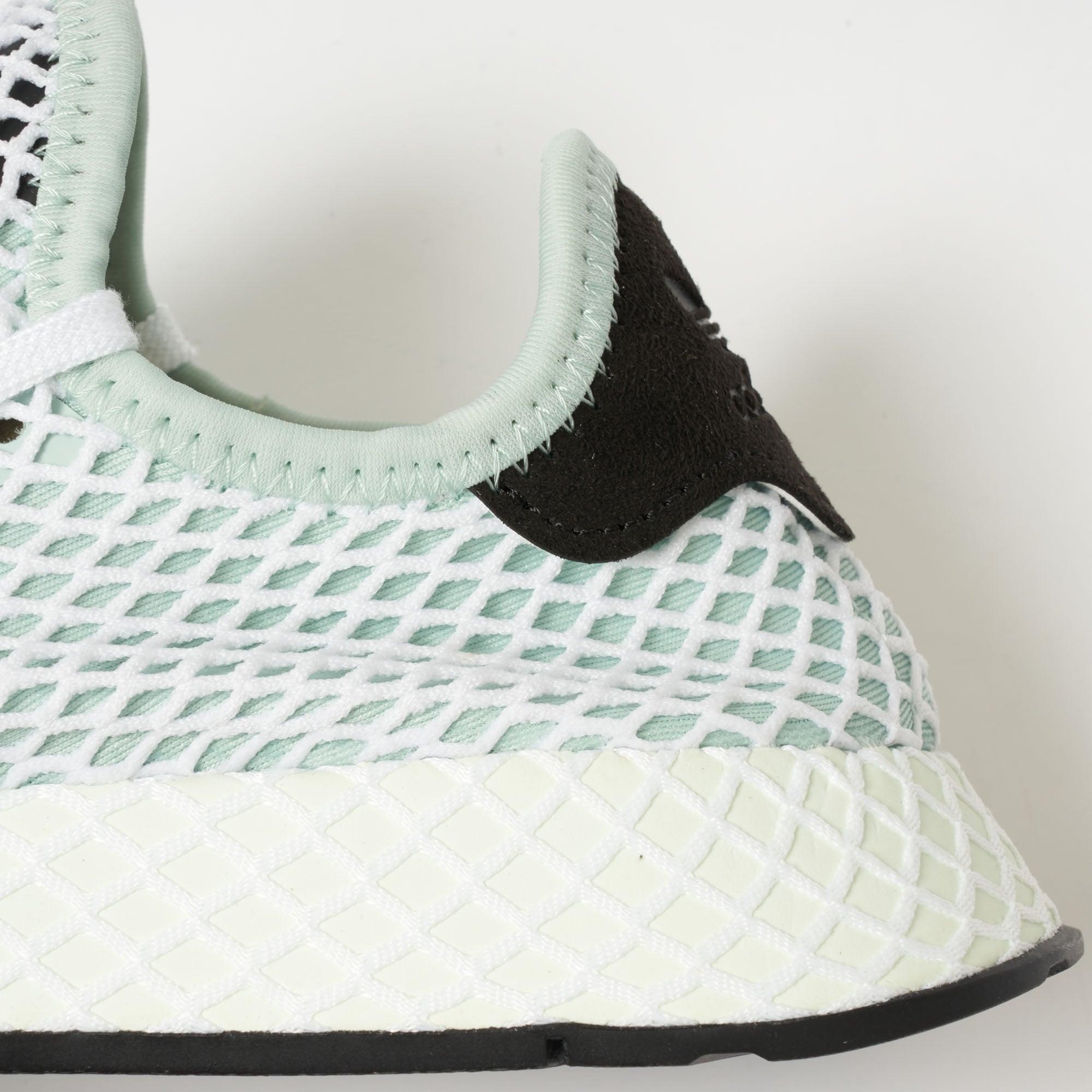 c4fd2b254a57 Adidas Womens Ash Green Deerupt Runner CQ2911