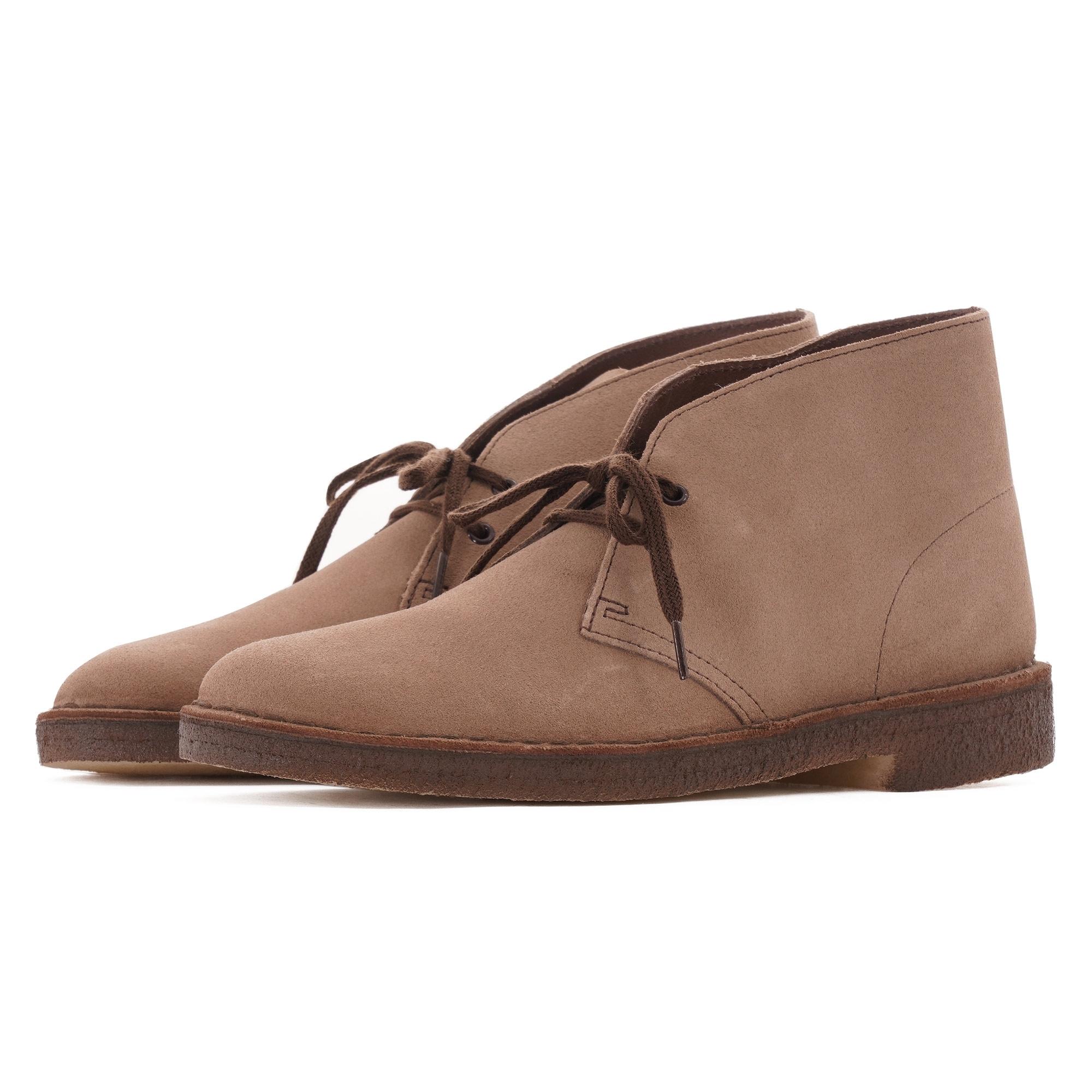 Boot lace up Clarks Originals Desert Boot brown suede