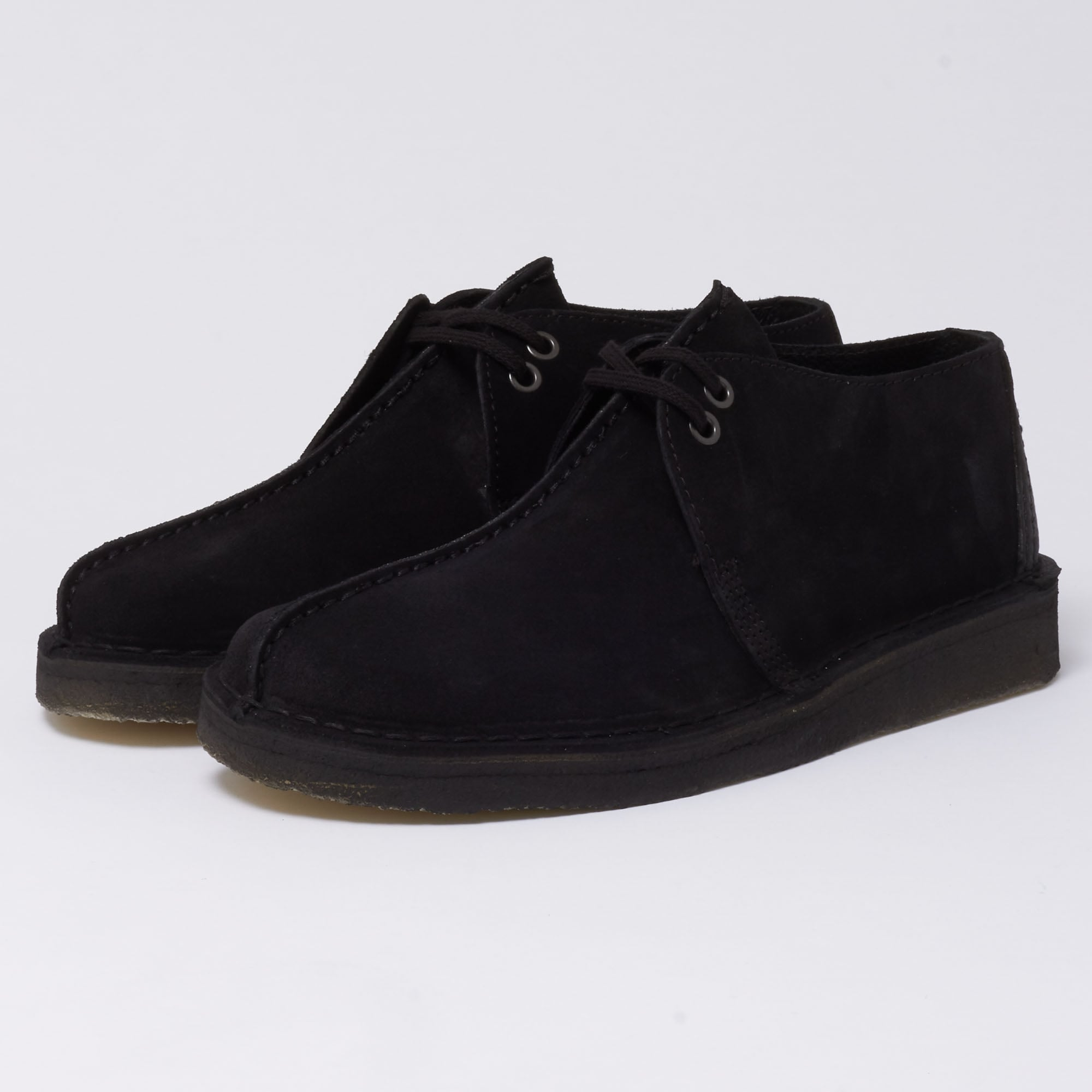 Clarks Originals Desert Trek Shoe Black
