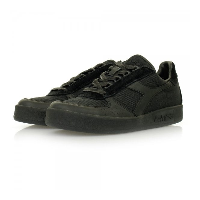 Diadora Heritage Diadora Borg Elite MM SW Black Shoes 80013