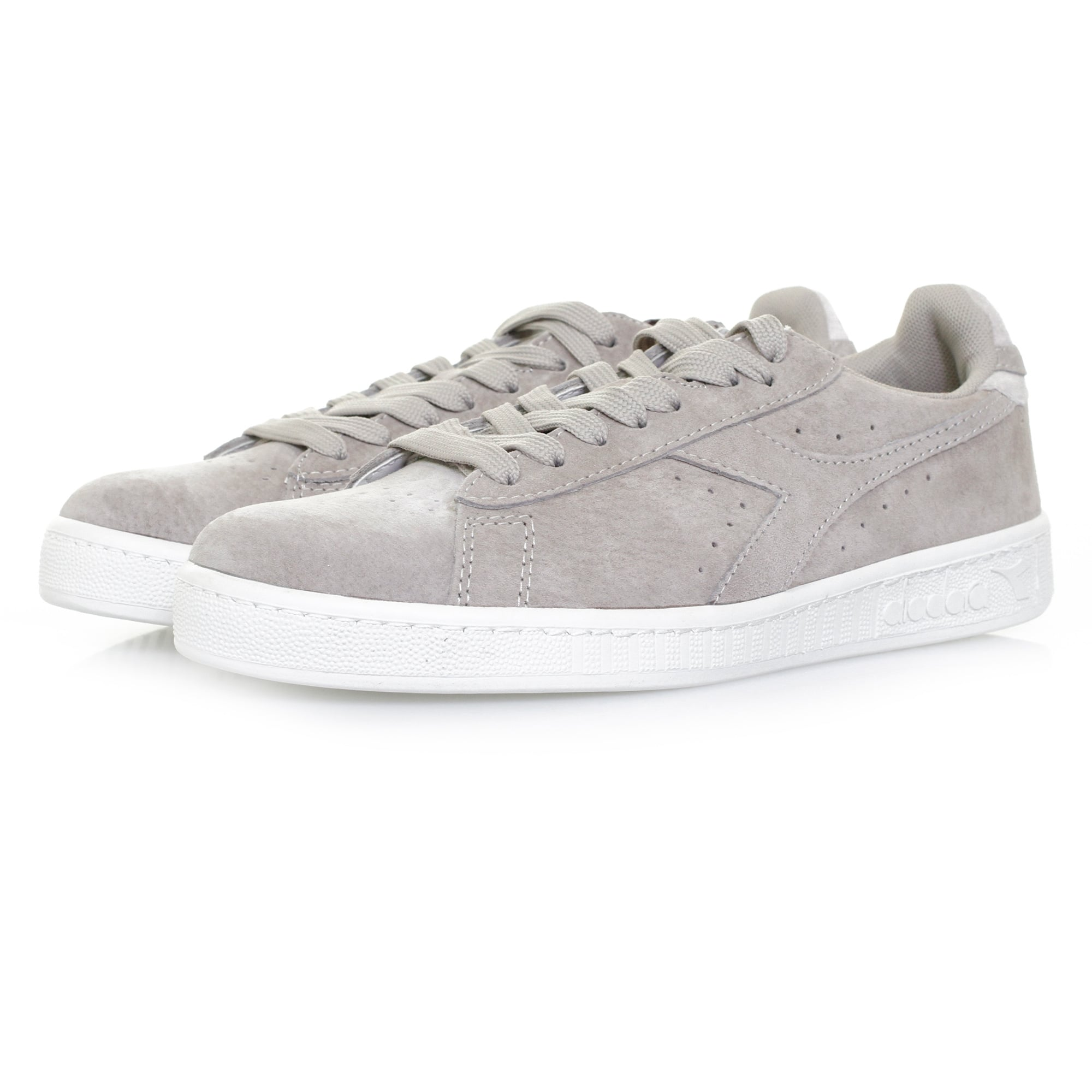 c66a4edc0e Diadora Diadora Game Low S Grey Shoe 501171832