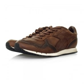 Diadora Heritage Trident Brogue L Brown Shoes 30044