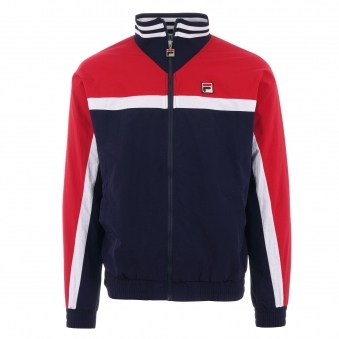 e2f0dd16001 Diego Track Jacket - Peacoat, Chinese Red & White · Fila Vintage ...