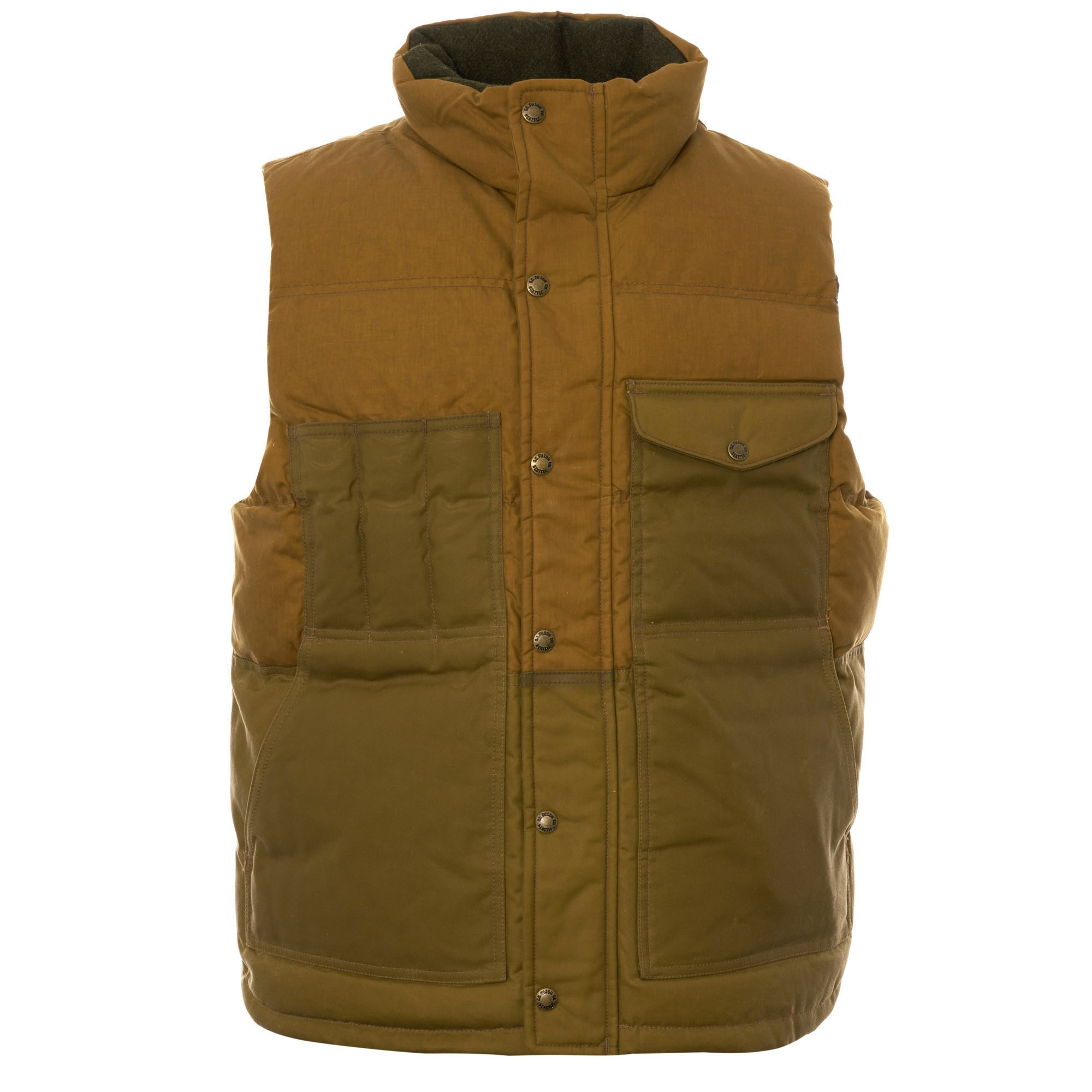 CC Filson Mens Button Front 100/% Cotton Shirt Small Plaid Flannel
