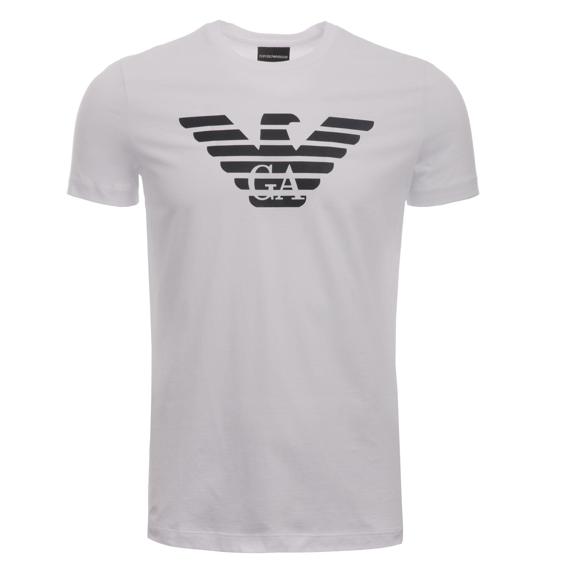 81790bb79 Emporio Armani Eagle Logo T-Shirt | White | AUS Stockists