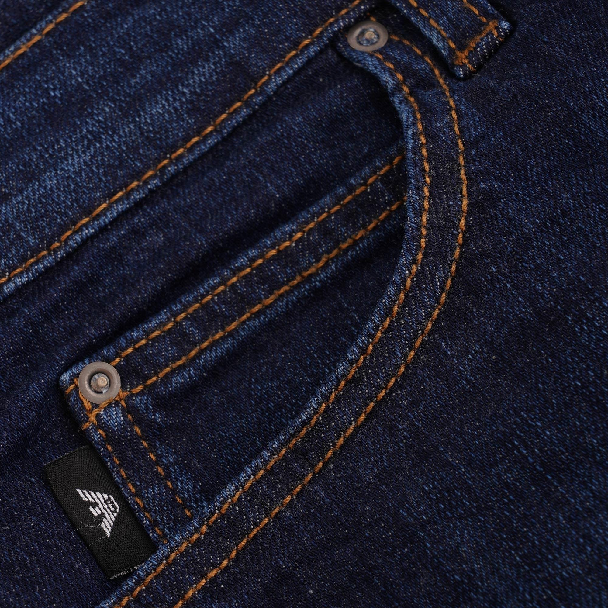 9dec02659b8a J21 Regular Fit Stretch Denim Jeans - Denim Blue