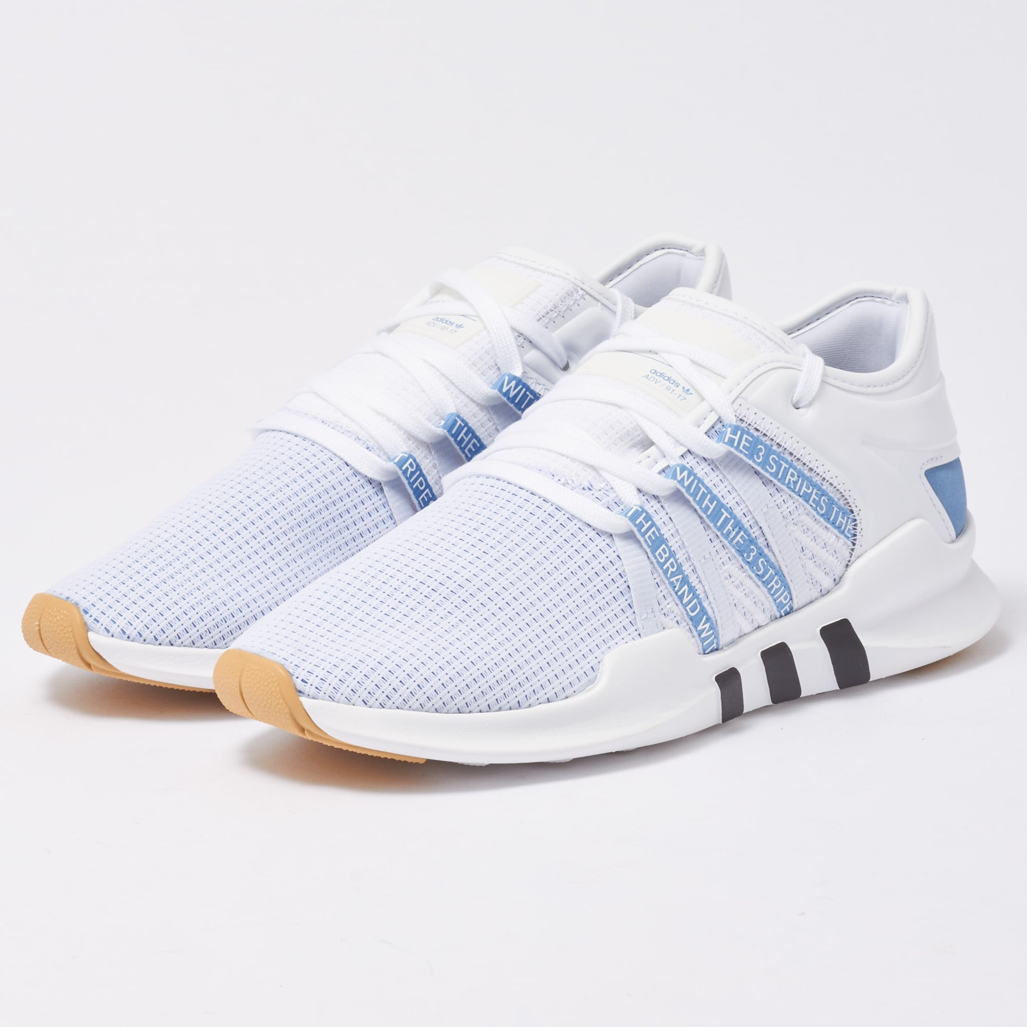 the best attitude 979c6 6d61e adidas Originals Womens EQT ADV Racing - White & Ash Blue