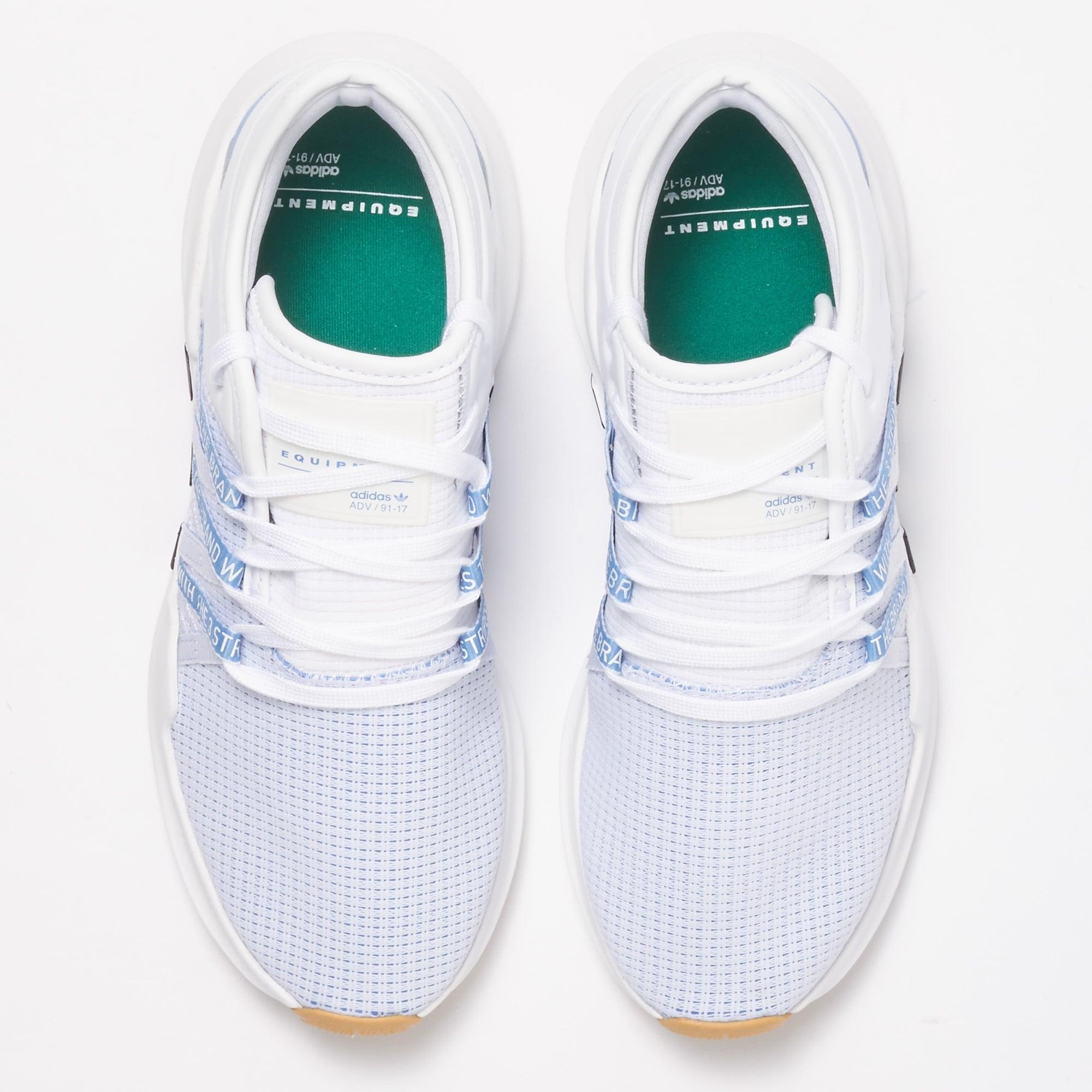 8962ebbf60fc Adidas White   Ash Blue EQT ADV Racing Shoes W CQ2155