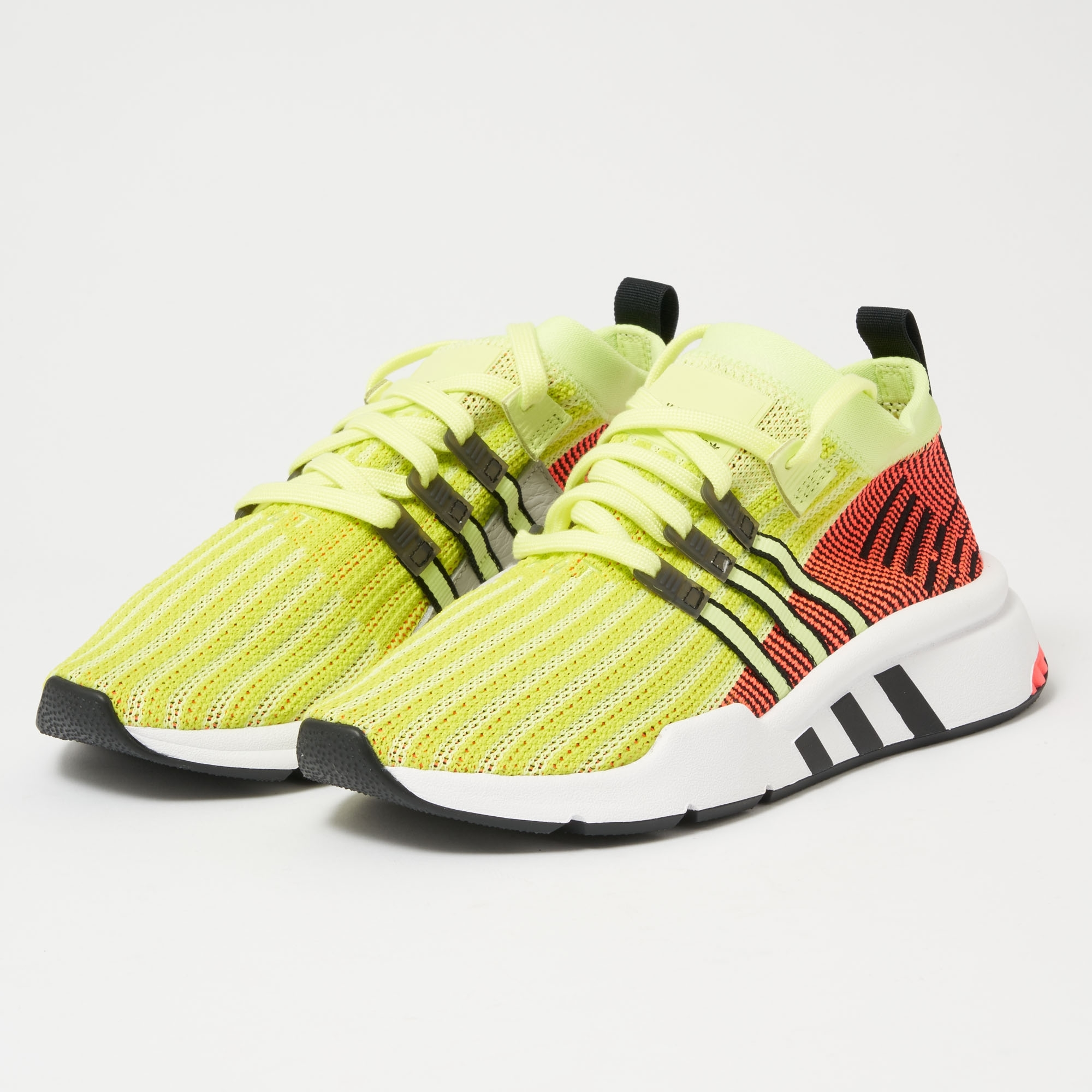 huge selection of 64492 d6316 EQT Support Mid ADV Primeknit - Glow, Core Black & Turbo