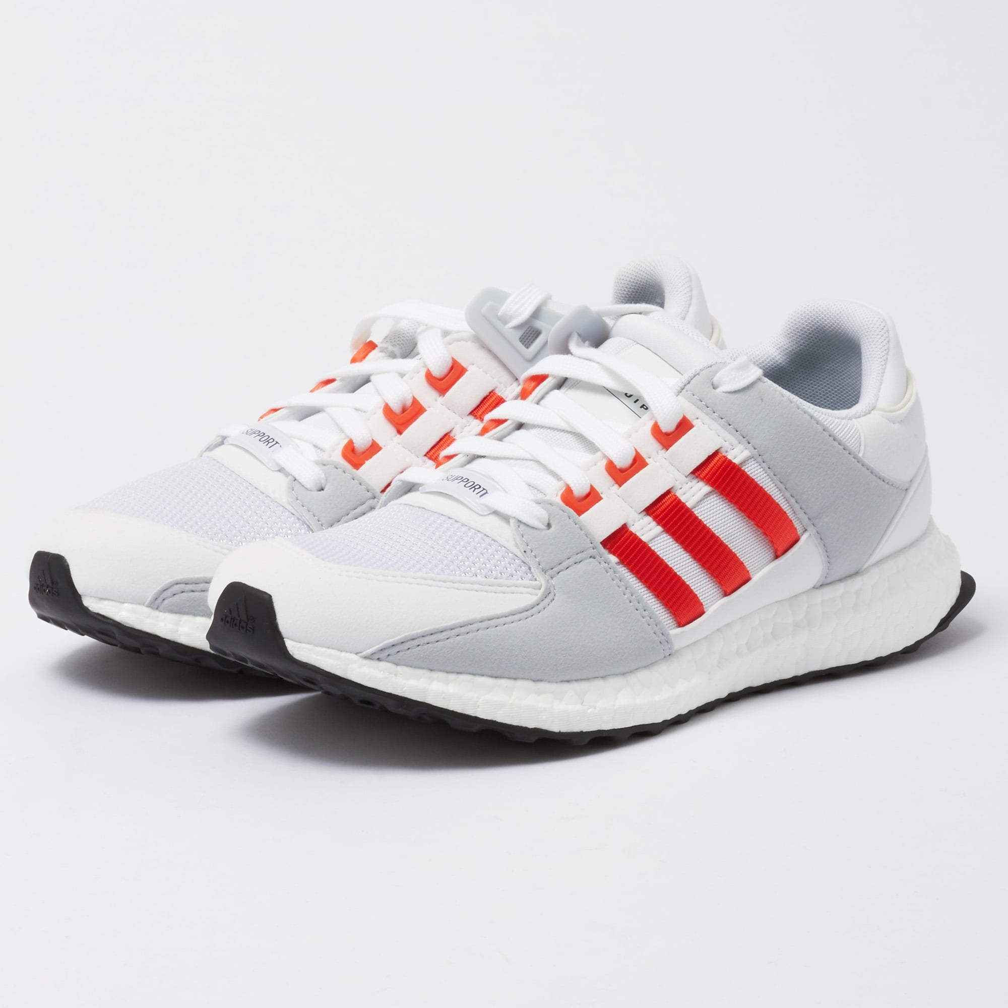 new style 25c66 b188a adidas Originals EQT Support Ultra - Running White & Bold Orange