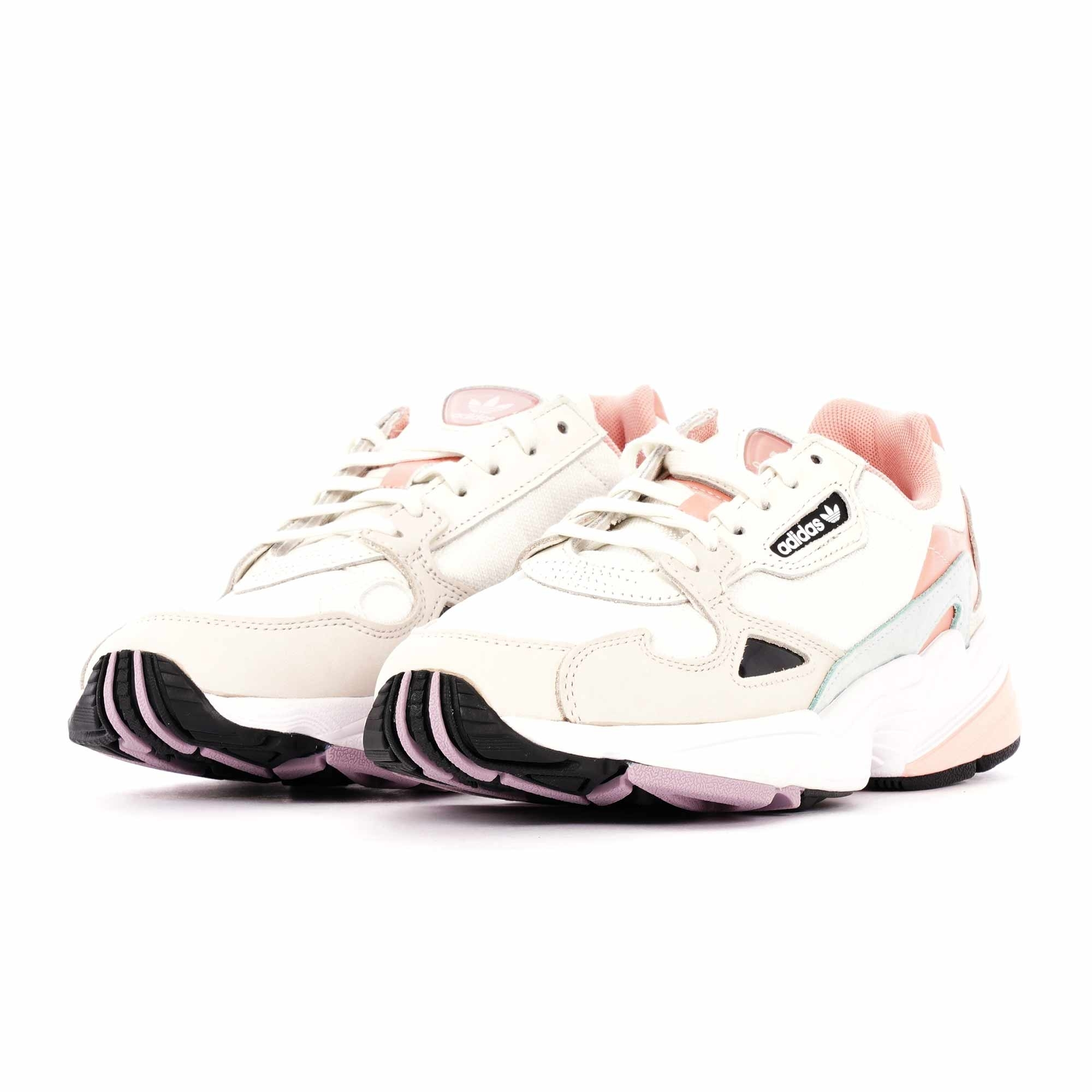 Adidas Originals Womens Falcon White Tint Trace Pink Ee4149