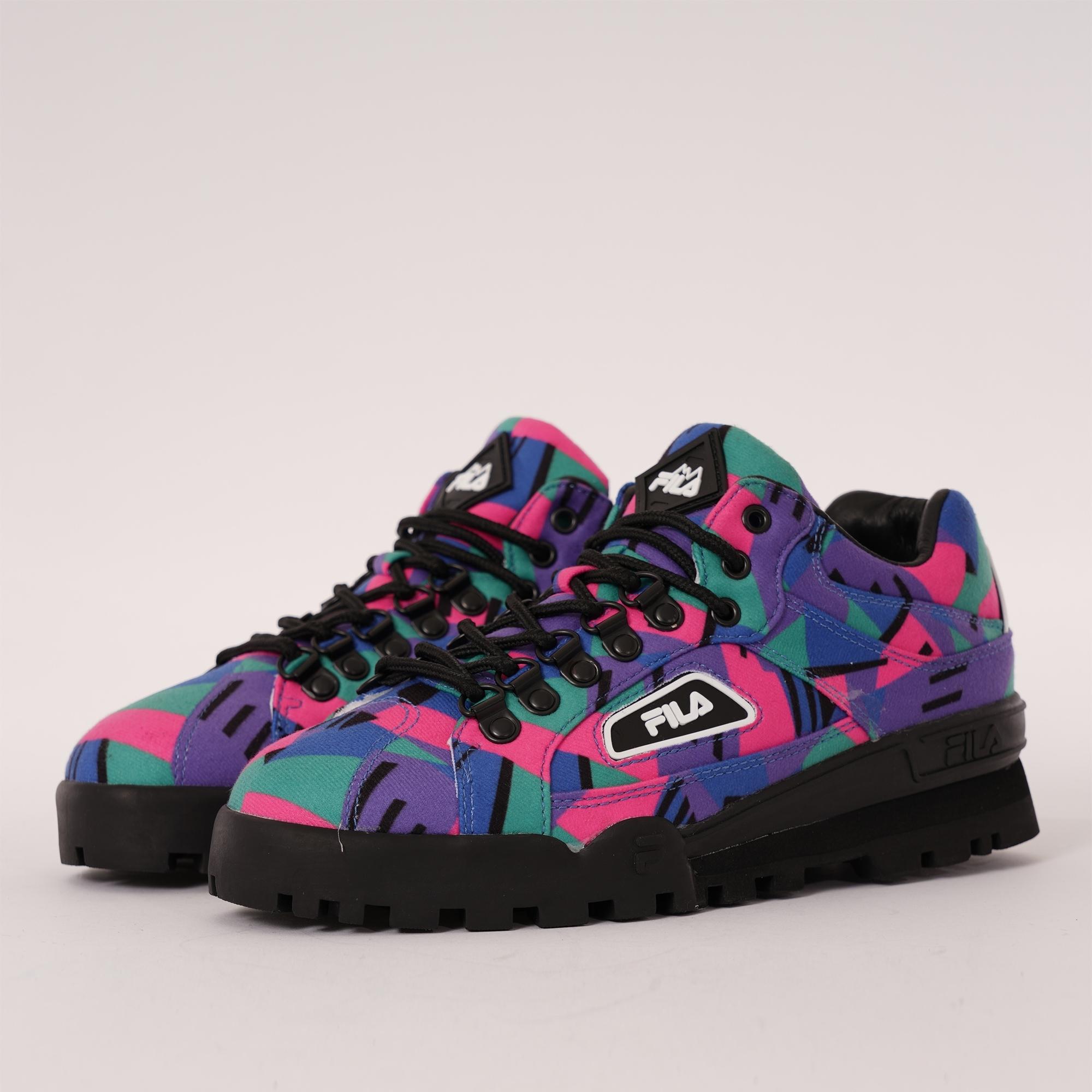 fila multi coloured shoes