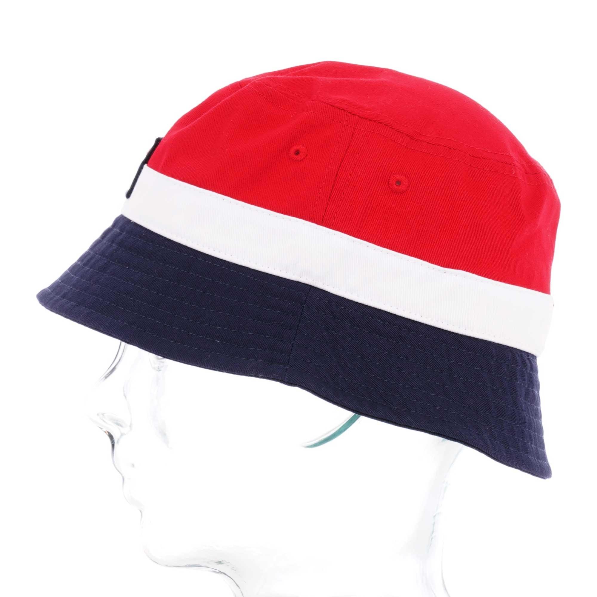 Fila Vintage Basil Bucket Hat Chinese Red Peacoat White Xs19wht405
