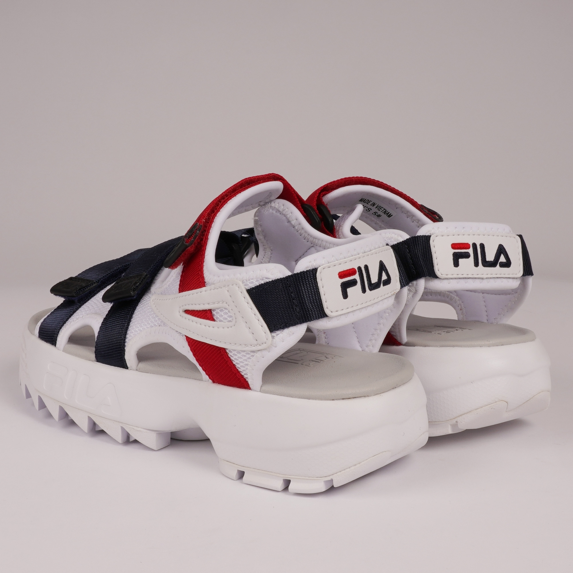 915134f1ead Fila Womens Disruptor Sandals