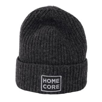 Homecore Finn Hat Logo Beanie - Charcoal