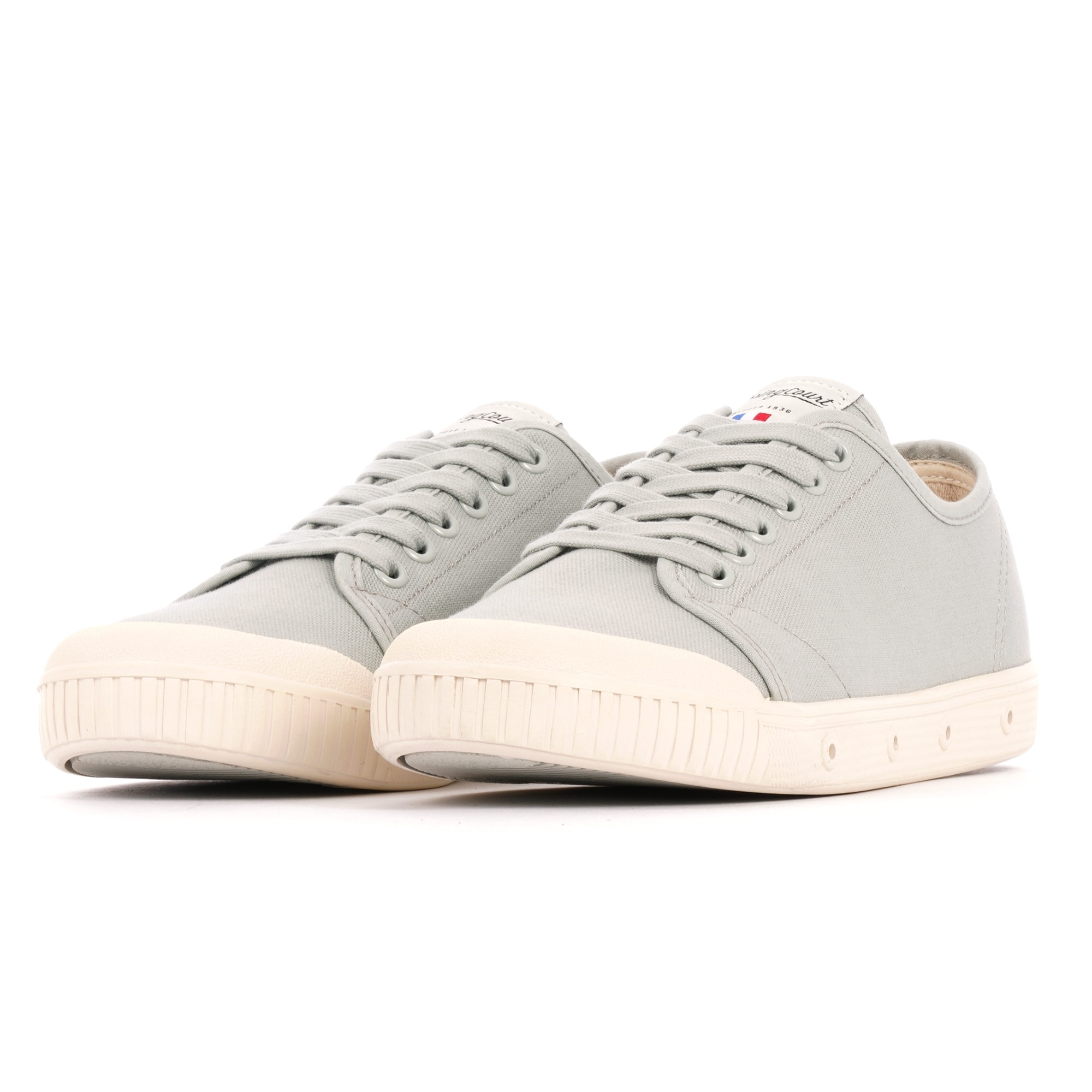 uk availability 0528c 72e1a G2 Vintage Cotton Canvas Shoes - Ash Grey
