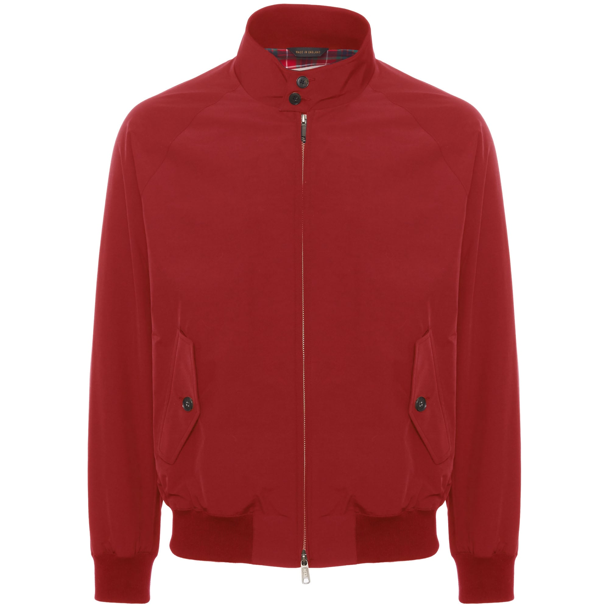 66500e0369574 Baracuta G9 Modern Classic Harrington Jacket Dark Red