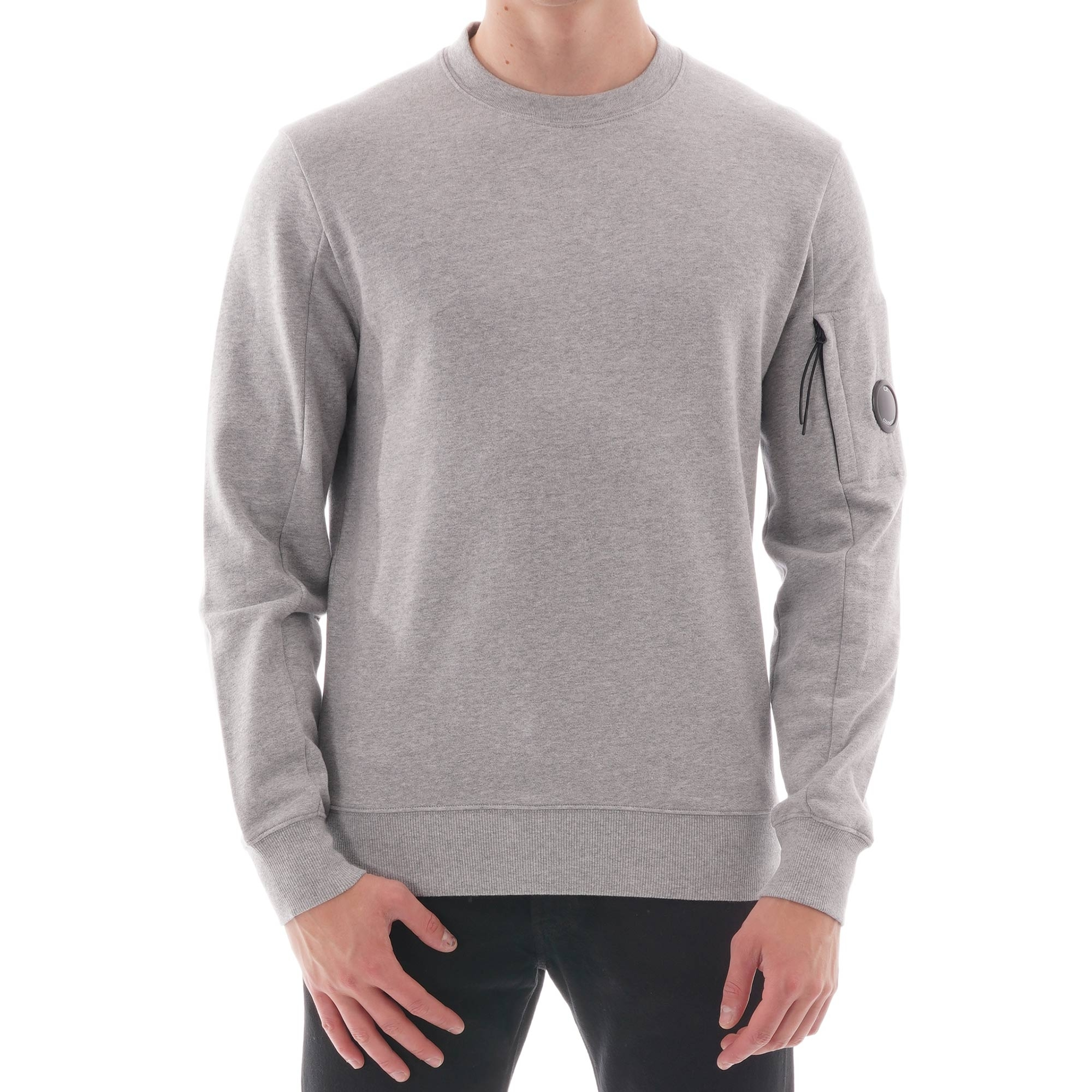 C.P Company Grey Lens Sweatshirt