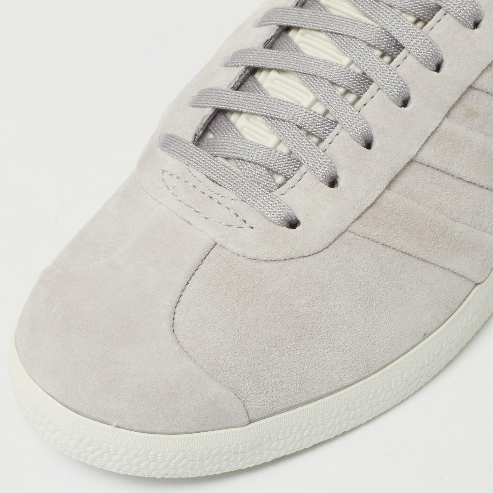 286e01afc466 Adidas Grey Womens Gazelle Stitch BB6709