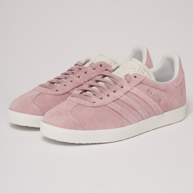 Adidas Pink Womens Gazelle Stitch