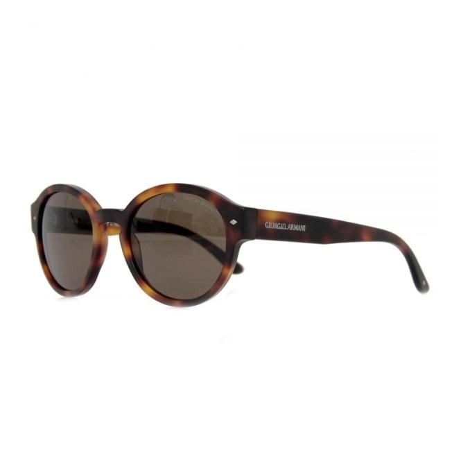 27269afed2 Giorgio Armani Retro Round Shape Tortoise Sunglasses AR8005