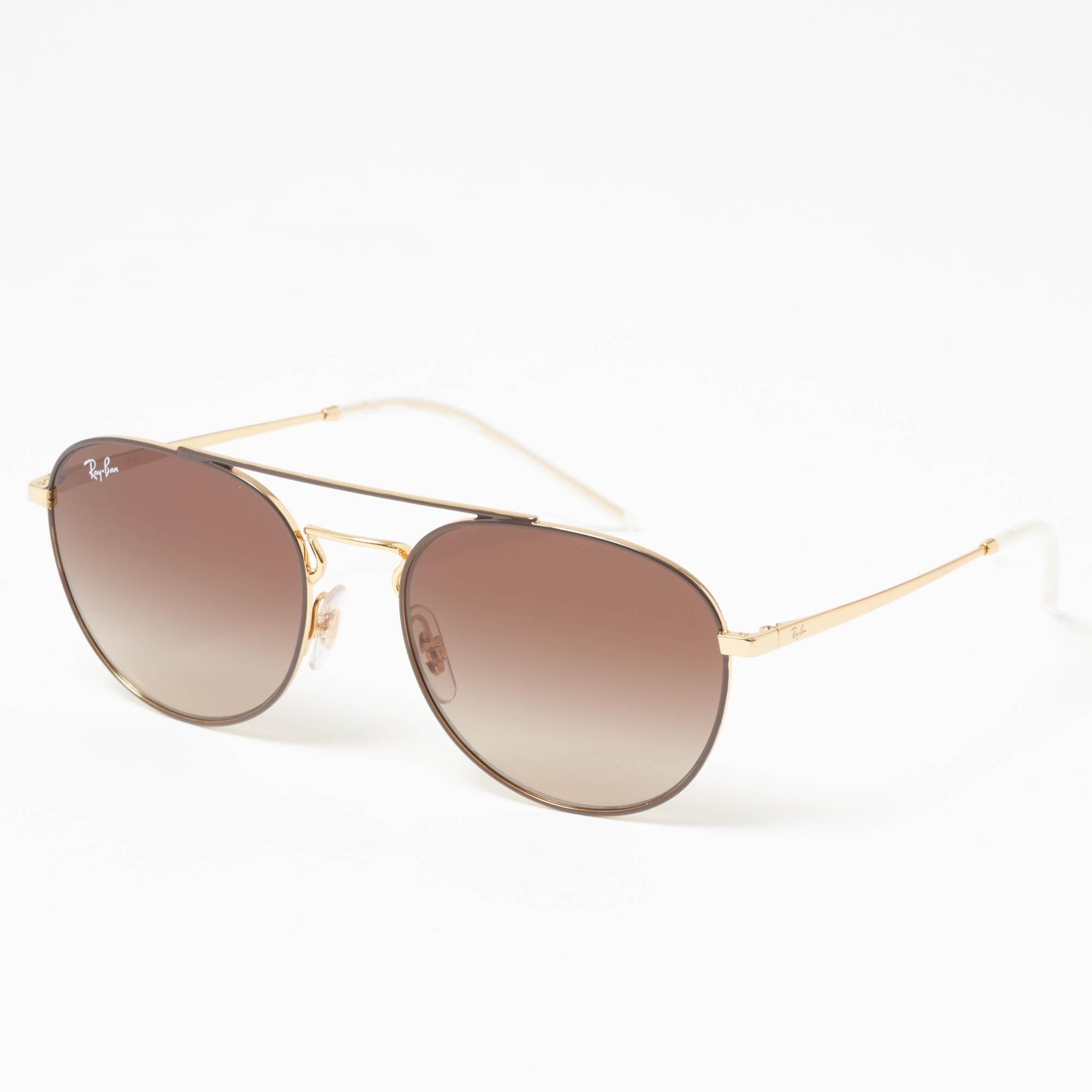 ec9901a3868 Gold RB3589 Sunglasses - Brown Gradient Lenses