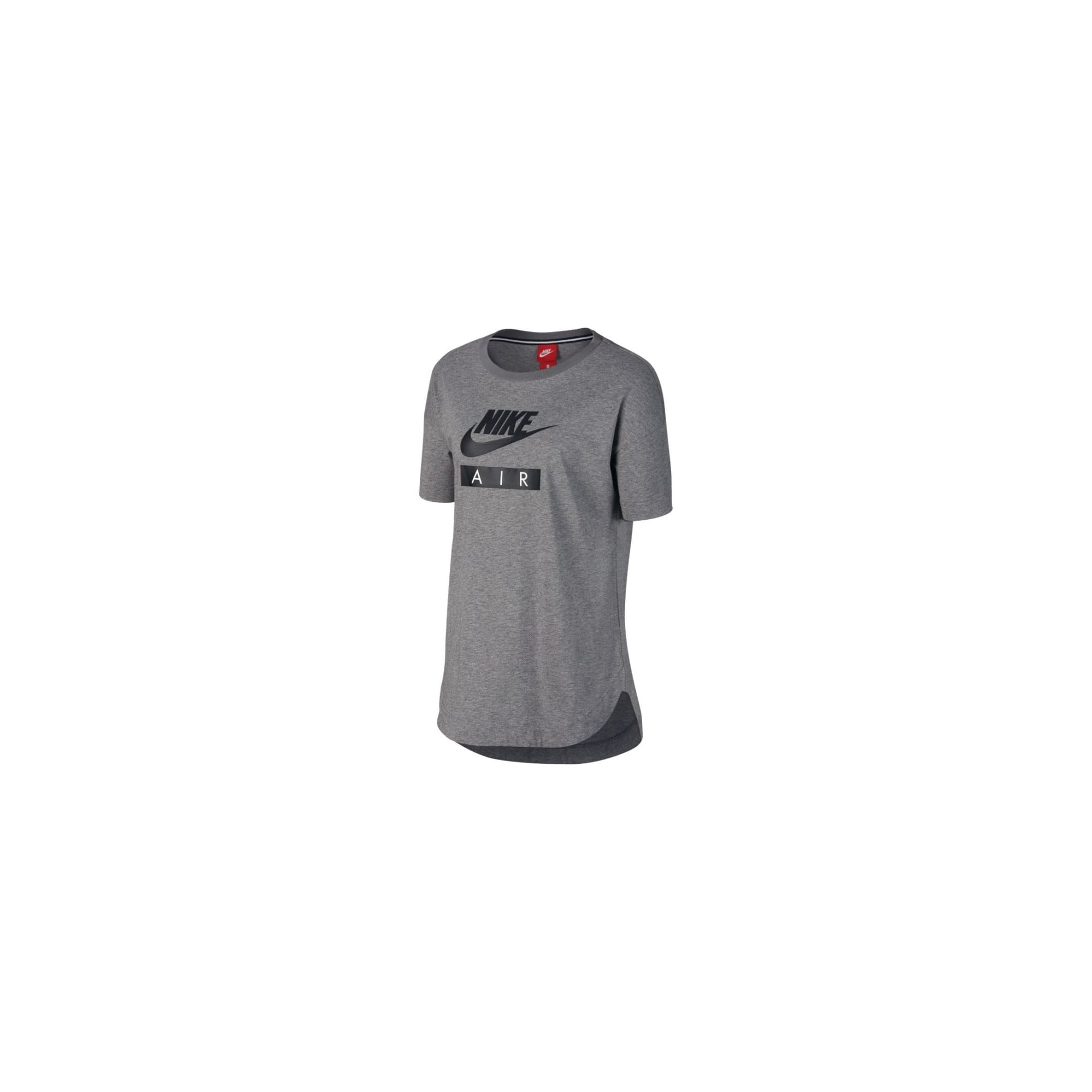 Nike Grey Air Logo Womens T-Shirt AA1720-091  e9ea77eacd