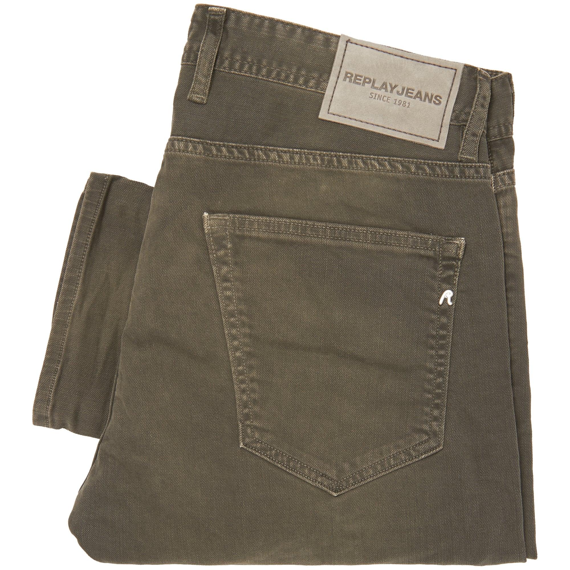 Replay Jeans Green Grover Jeans MA972-040   Stuarts London e2c56c7e67