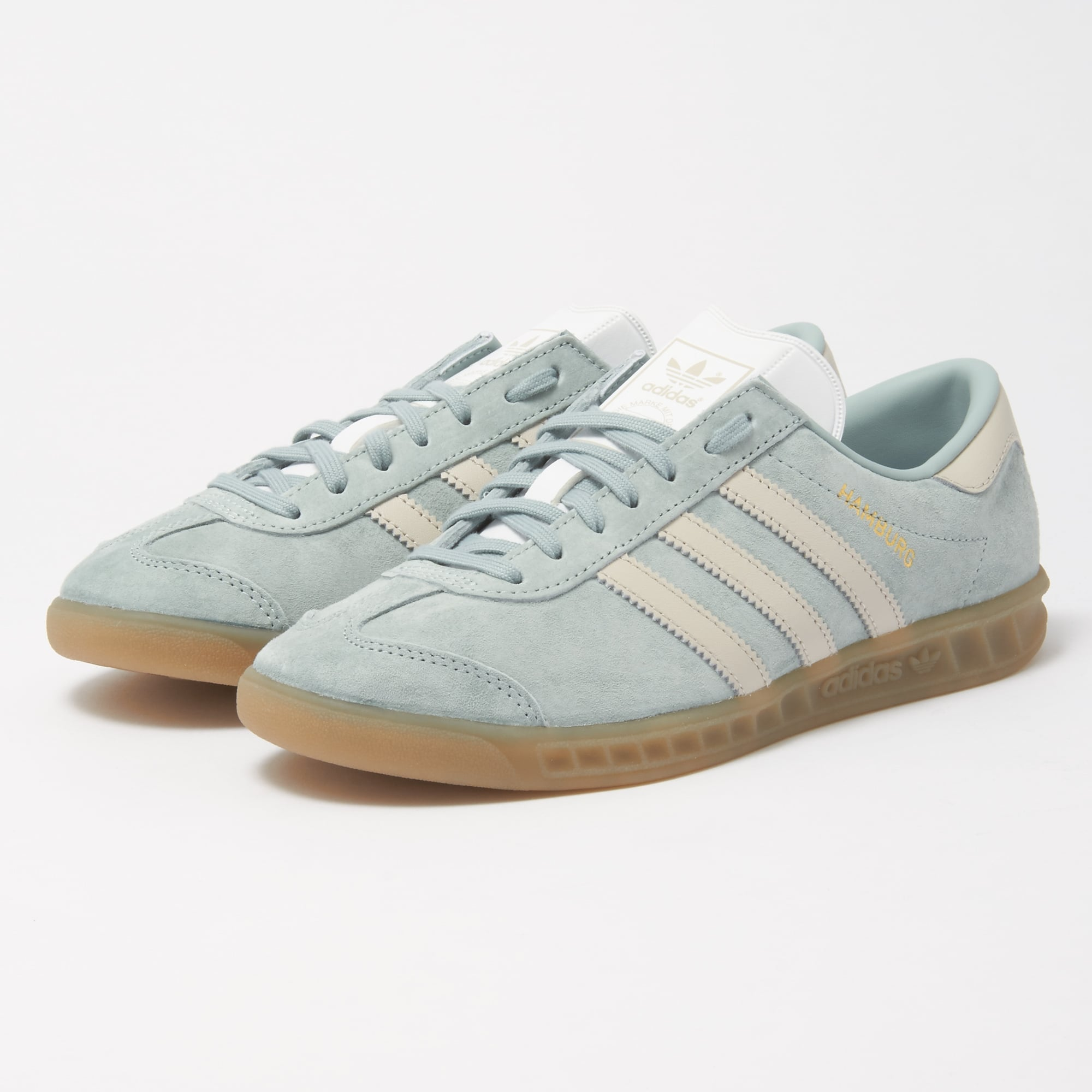 estrecho Adivinar idioma  Adidas Tactile Green Hamburg W Trainers | BY9674 | Stuarts London