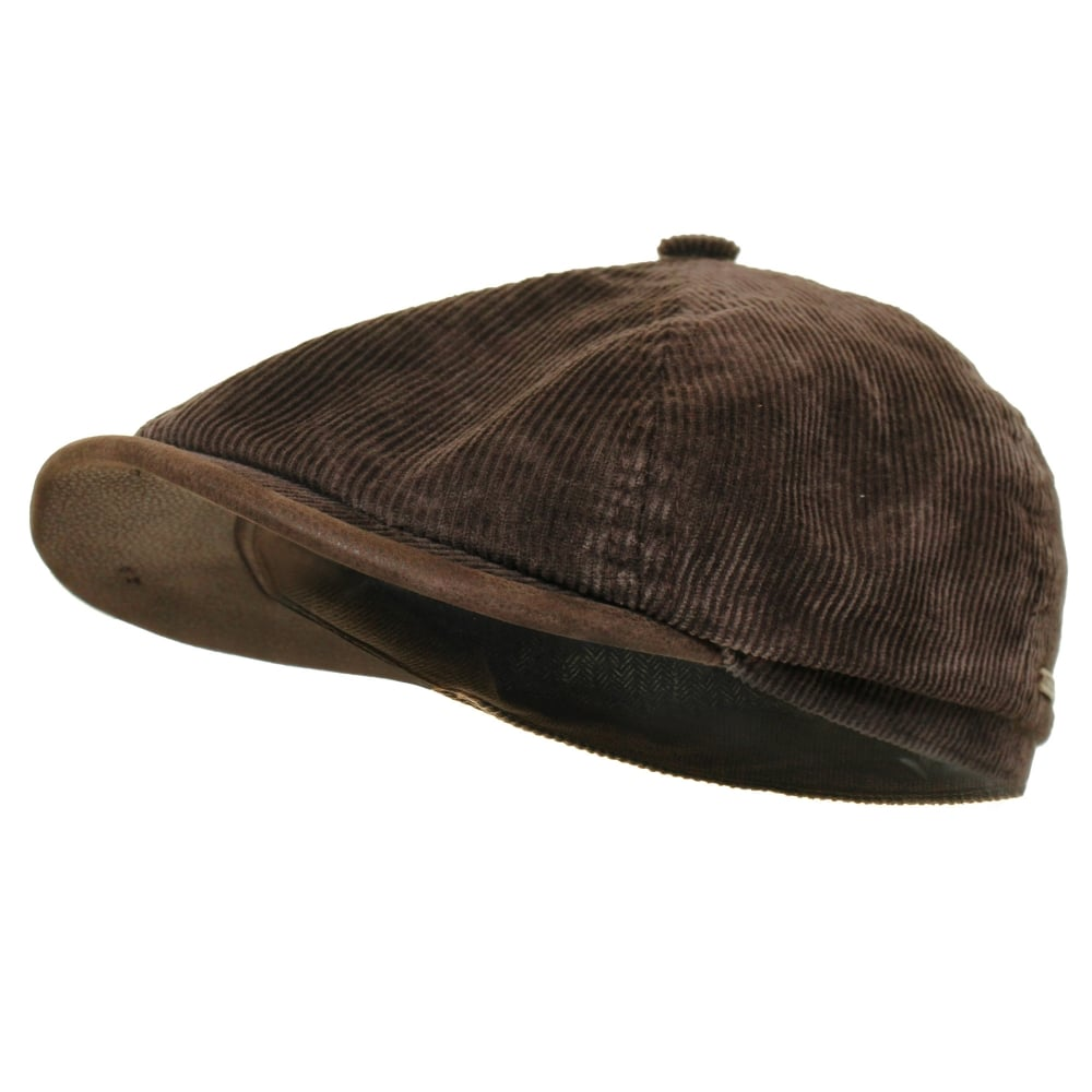 78744eedb Stetson Hats Hatteras Corduroy Newsboy Cap