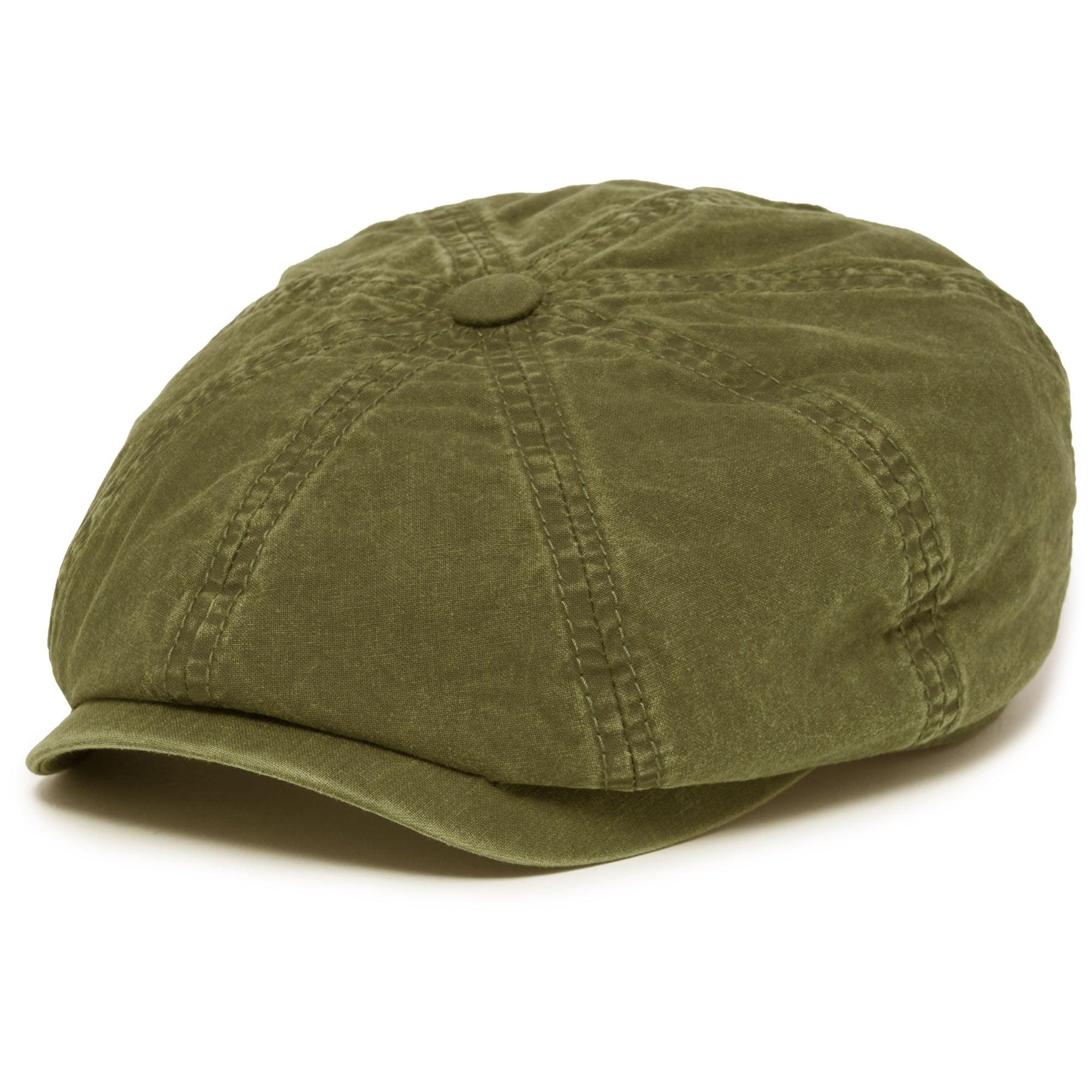 Hatteras Delave Cotton Flat Cap- Khaki dd487d90a17