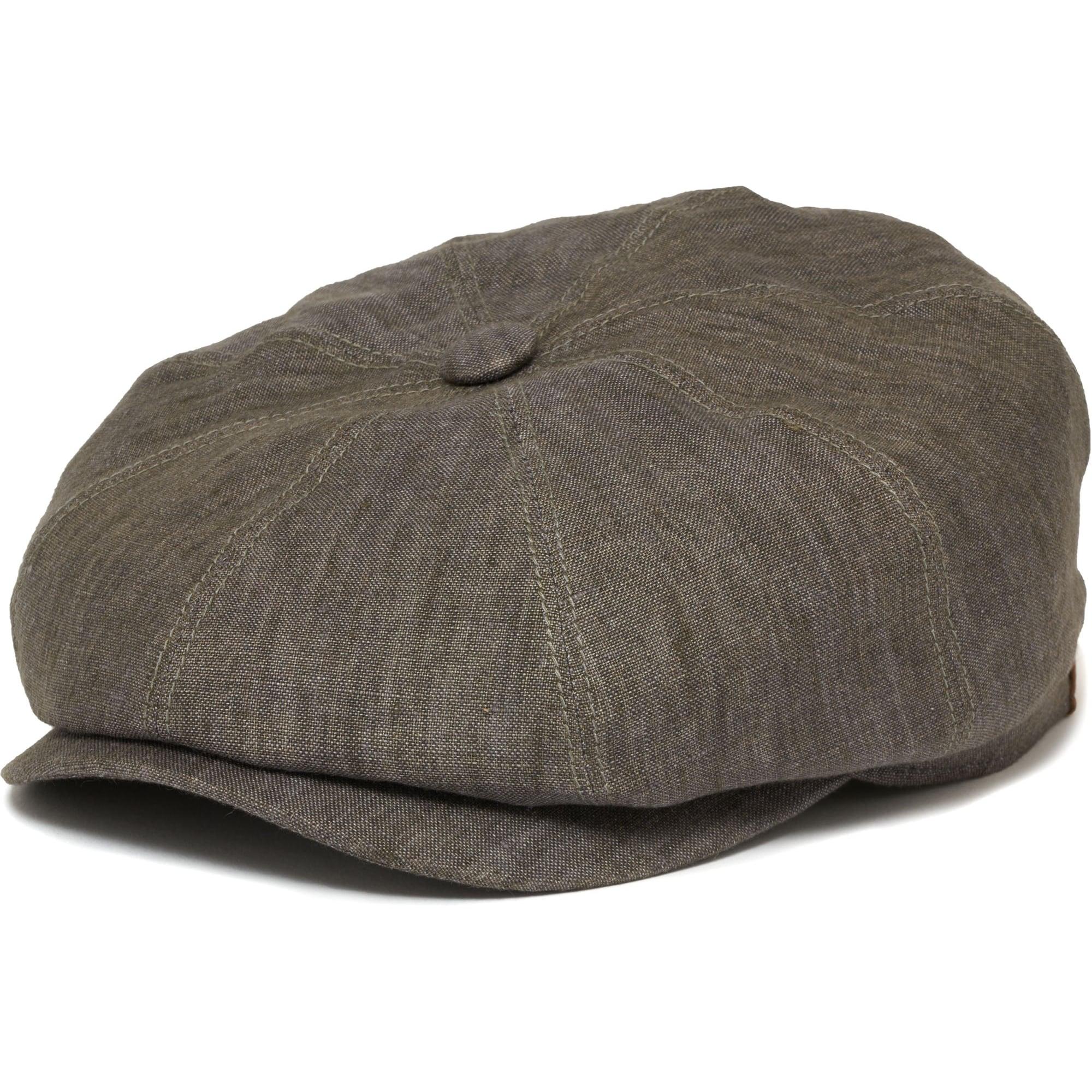 Stetson Grey Hatteras Linen Newsboy Cap  439614fff4f