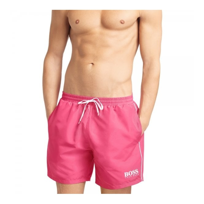 d373fded43 Hugo Boss Black Clothing | Starfish Pink Shorts