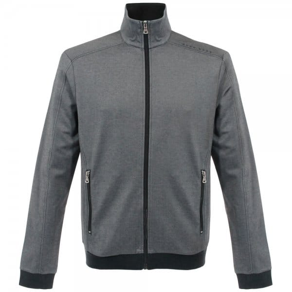 Hugo Boss Black Jacket Zip Black Track Top 50283205