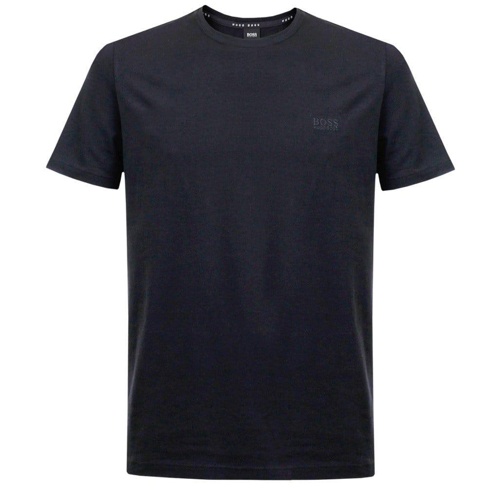 Hugo boss black clothing shirt rn ss dark blue t shirt for T shirt dark blue