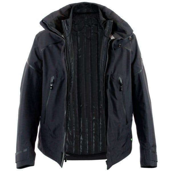 hugo boss green jerkano charcoal waterproof jacket 50270595. Black Bedroom Furniture Sets. Home Design Ideas