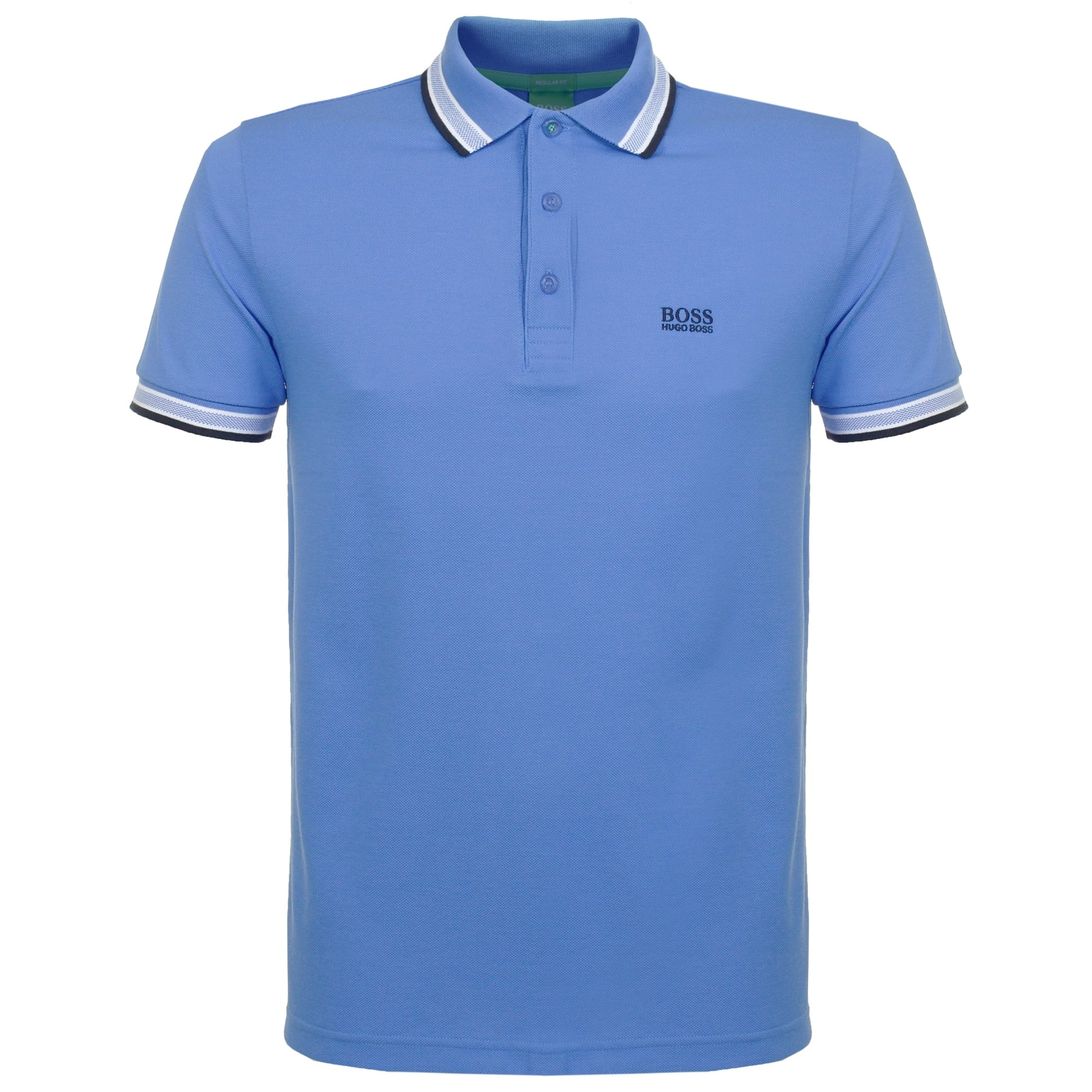 5ce6501db Hugo Boss Green Paddy Mid Blue Polo Shirt 50302557