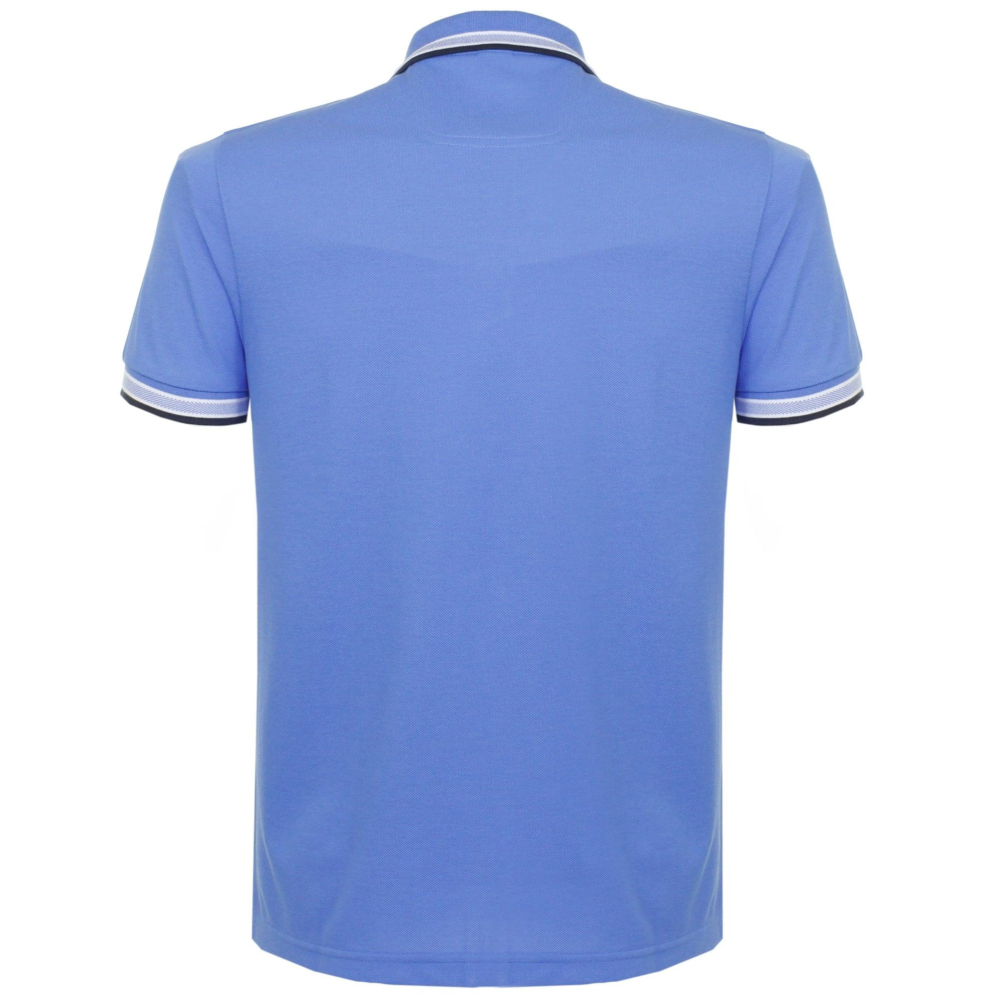 2e595acfb Hugo Boss Green Paddy Mid Blue Polo Shirt 50302557
