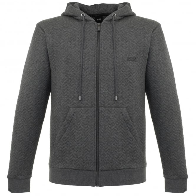 BOSS Hugo Boss Hugo Boss Jacket hooded Grey Track Top 50326749