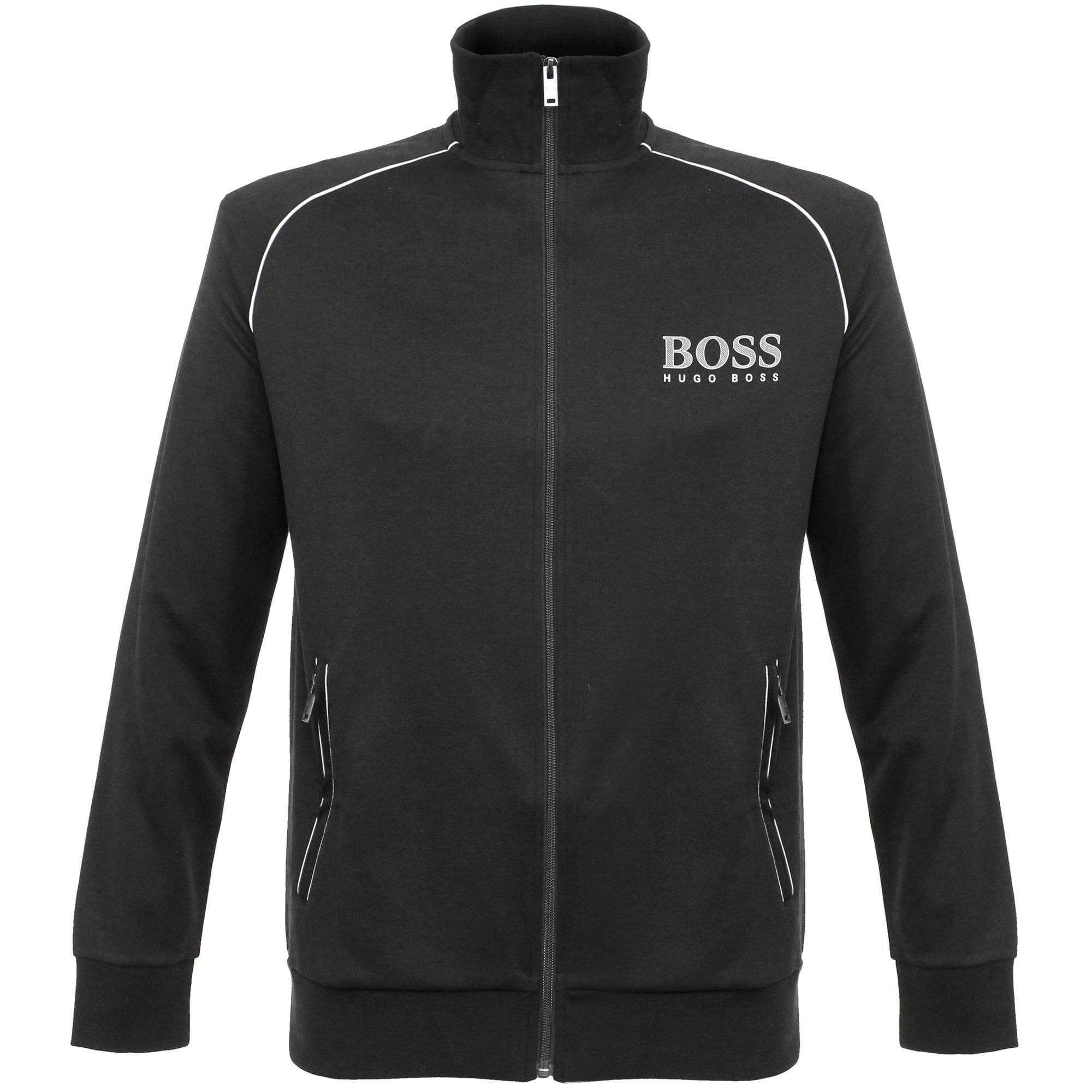 4b54f3505 Hugo Boss London Shop | Jacket Zip Black Track Top