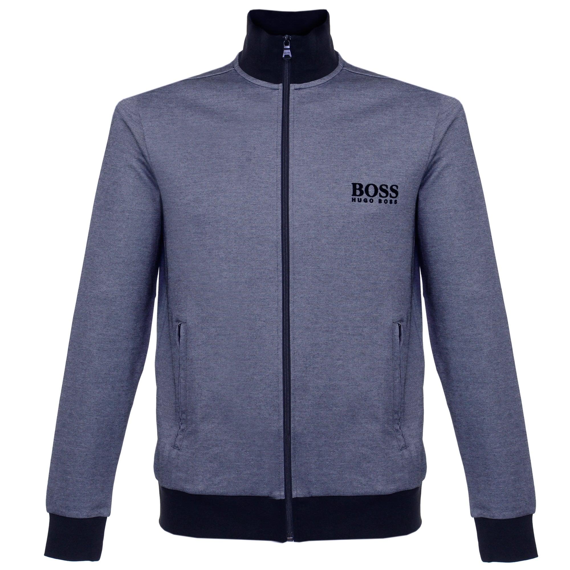 fc1be406681 Hugo Boss Jacket Zip Blue Track Top 50326828