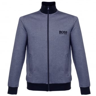 Hugo Boss Jacket Zip Blue Track Top 50326828