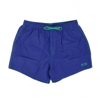 Hugo Boss Lobster Medium Blue Swim Shorts 50269486
