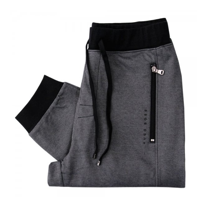 footwear classic style of 2019 top-rated BOSS Hugo Boss Long Pant Cuffs Black Tracksuit Bottoms 50283203